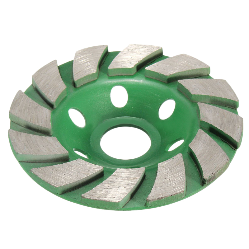 4 Inch 100Mm Diamond Grinding Wheel Disc Bowl Shape Grinding Cup Concrete Granite Stone Ceramics Tools