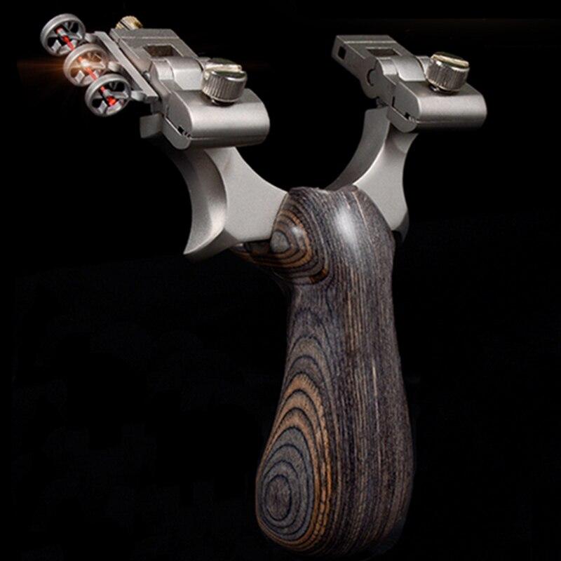 หนังสติ๊กสแตนเลส ติดศูนย์เล็ง สำหรับใช้ยิง ลูกหิน ลูกเหล็ก ลูกโลหะ ลูกตะกั่ว ยิงนก ยิงปลา ล่าสัตว์ กิจกรรมกลางแจ้ง