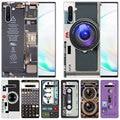 Ретро винтажная Кассета для камеры музыкальный мягкий чехол для Samsung Galaxy Note 10 Pro 9 8 5 M30S M40 S10E S10 5G S9 S8 Plus S7 S6 Edge S5