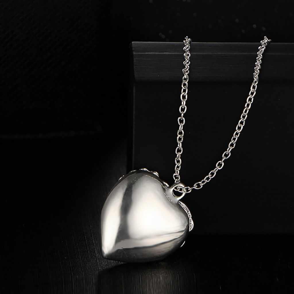توهج في الظلام الإناث قلادة الجوف خارج القلب النساء البرية الكريستال قلادة مضيئة عقد شوكر للحزب هدية النساء