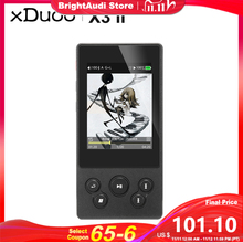 XDUOO X3II X3 II AK4490 USB DAC Bluetooth Portable HD Lossless MP3/WAV/ FLAC Music Player DSD128 Hiby Link In line Control