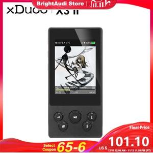 Image 1 - XDUOO X3II X3 II AK4490 USB DAC Bluetooth Portable HD Lossless MP3/WAV/ FLAC Music Player DSD128 Hiby Link In line Control