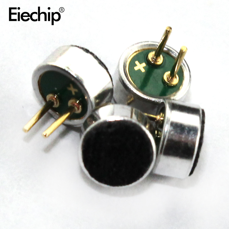 10pcs Microphone 6*2.2mm Capacitive Electret Microphone 52DB Sensitivity Hot