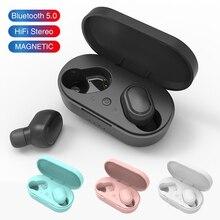 M1 TWSหูฟังบลูทูธPK Redmi Airdotsหูฟังไร้สาย5.0หูฟังกีฬาชุดหูฟังพร้อมไมโครโฟนสำหรับiPhone 11 Pro xs