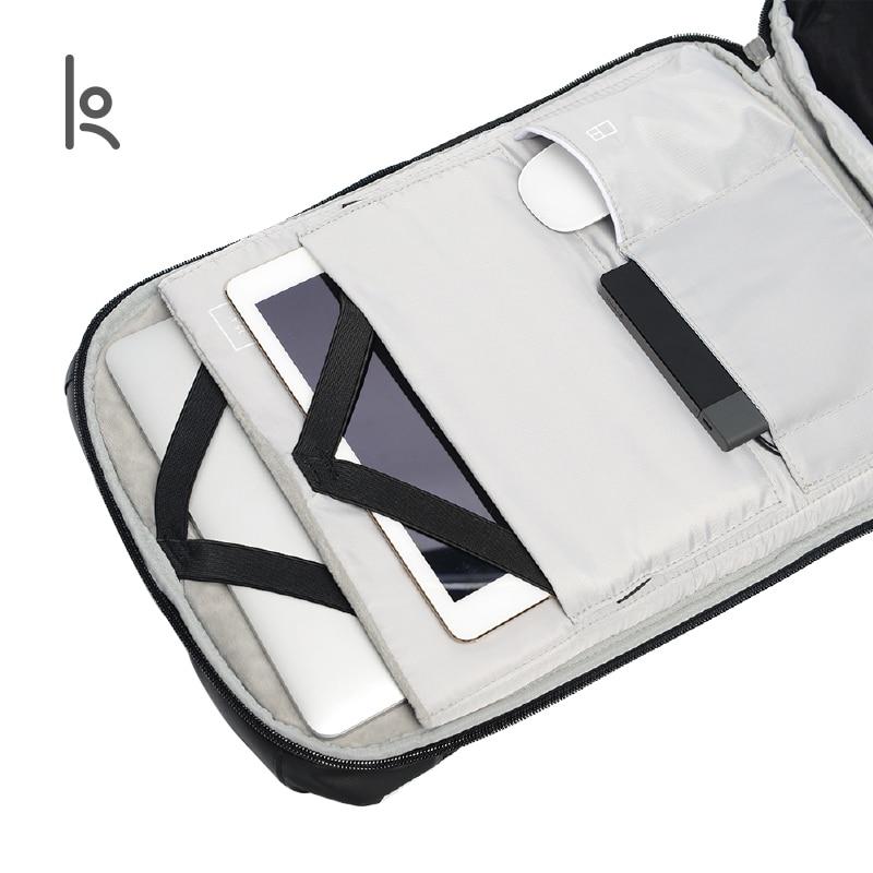 Korin デザインクリック複数の抗泥棒バックパック男性ラップトップバックパック 15.6 インチ USB 充電大型防水旅行のバックパック男性  グループ上の スーツケース & バッグ からの バックパック の中 3
