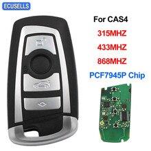 4 кнопки дистанционного ключа автомобиля 315 МГц 433 868 МГц PCF7945P чип для BMW CAS4 1 3 5 7 серии 523 528 535 550 318 320 325 328 330