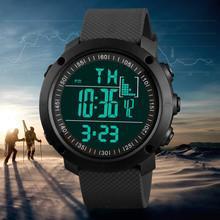 Sports Watches Countdown Mens Waterproof LED Digital Watch Man Military Clock luxury men sport watches @9