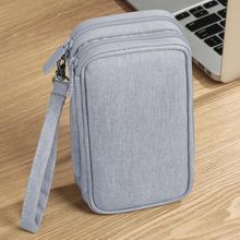 BUBM powerbank podróżny futerał ochronny bateria zewnętrzna torba do przenoszenia pokrowiec na dysk twardy Organizer do kabli USB słuchawki przewodowe tanie tanio CN (pochodzenie) Polyester