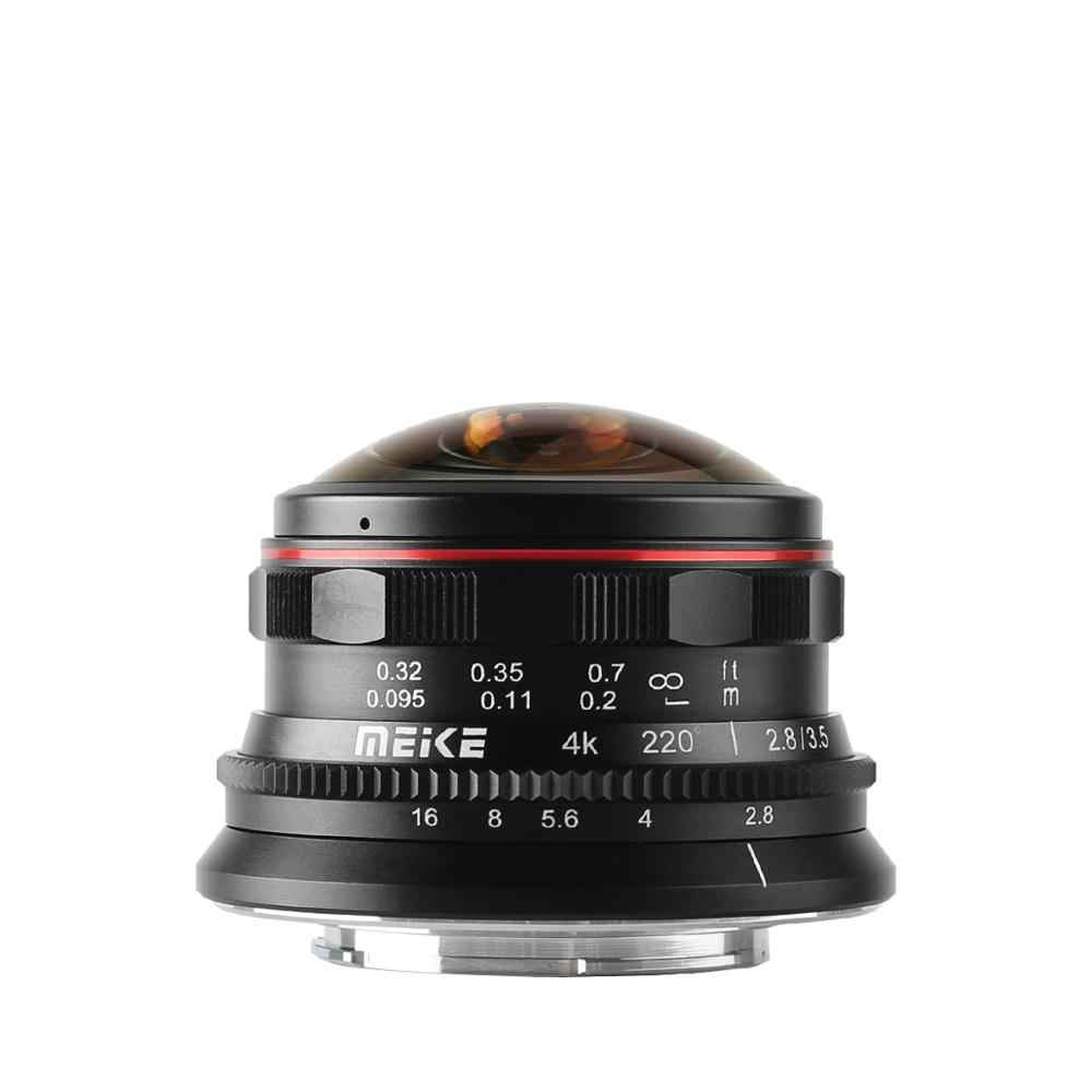 Meike 3.5mm f2.8 Grand Angle Manuel Focus Fisheye pour M4/3 MFT monter comme Olympus Panasonic Lumix GH5