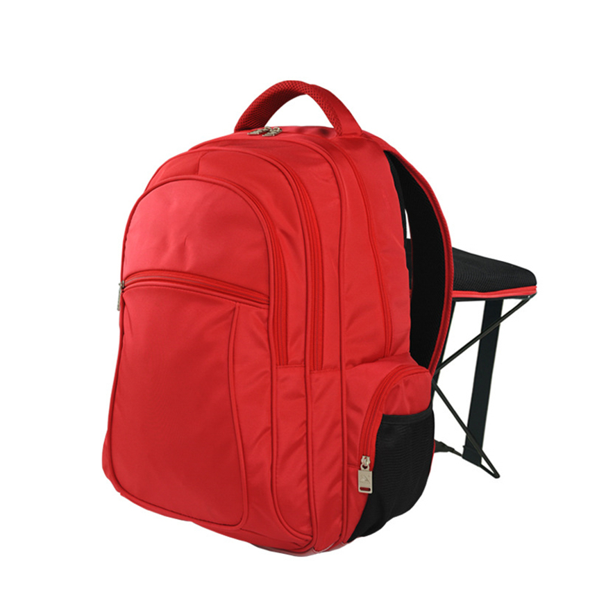 C1312 47L Fishing Chair Backpack Multifunctional Folding Stool Backpack Outdoor Casual Sports Mountaineering Hiking Backpack