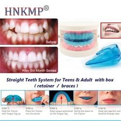 HNKMP Orthodontic Braces Dental Braces Teeth Whitening Dental Appliances Tooth Alignment Braces Teeth Straight Tooth Care Tool