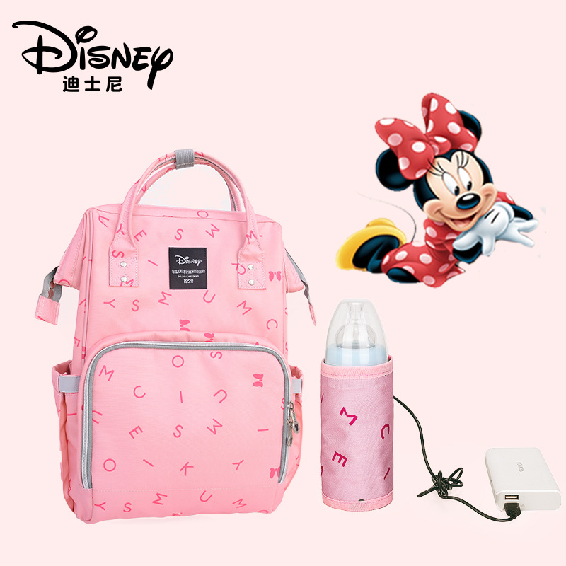 Disney  Mummy Bag 2018 New Fashion Large Capacity wet bag   Multi Functional Diaper Bag  baby care bag-in Diaper Bags from Mother & Kids    1