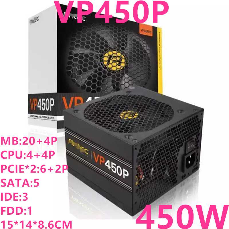 New PSU For Antec Brand ATX Non-modular Support 2060 Graphics Card Silent Power Supply 450W/350W Power Supply VP450P VP350P image