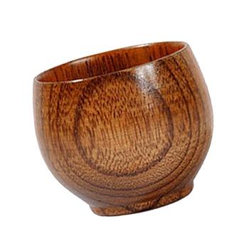 Wooden Beer Mugs Tea Coffee Milk Travel Mug Eco-Friendly Big Mug Tableware Drinkware Home Bar Drinking Cup, 50ml