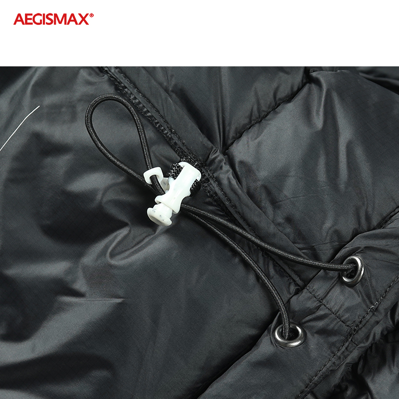 AEGISMAX Men Ultra-Light 95% White Goose Down 800FP Down Outdoor Camping Keep Warm Down Jacket-5