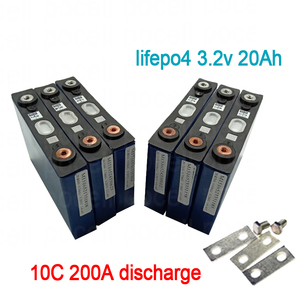 8pcs lifepo4 3.2v 20Ah lithium battery 10C 200A discharge Lithium iron phosphate for diy 12V 200Ah bike electric vehicle UPS(China)