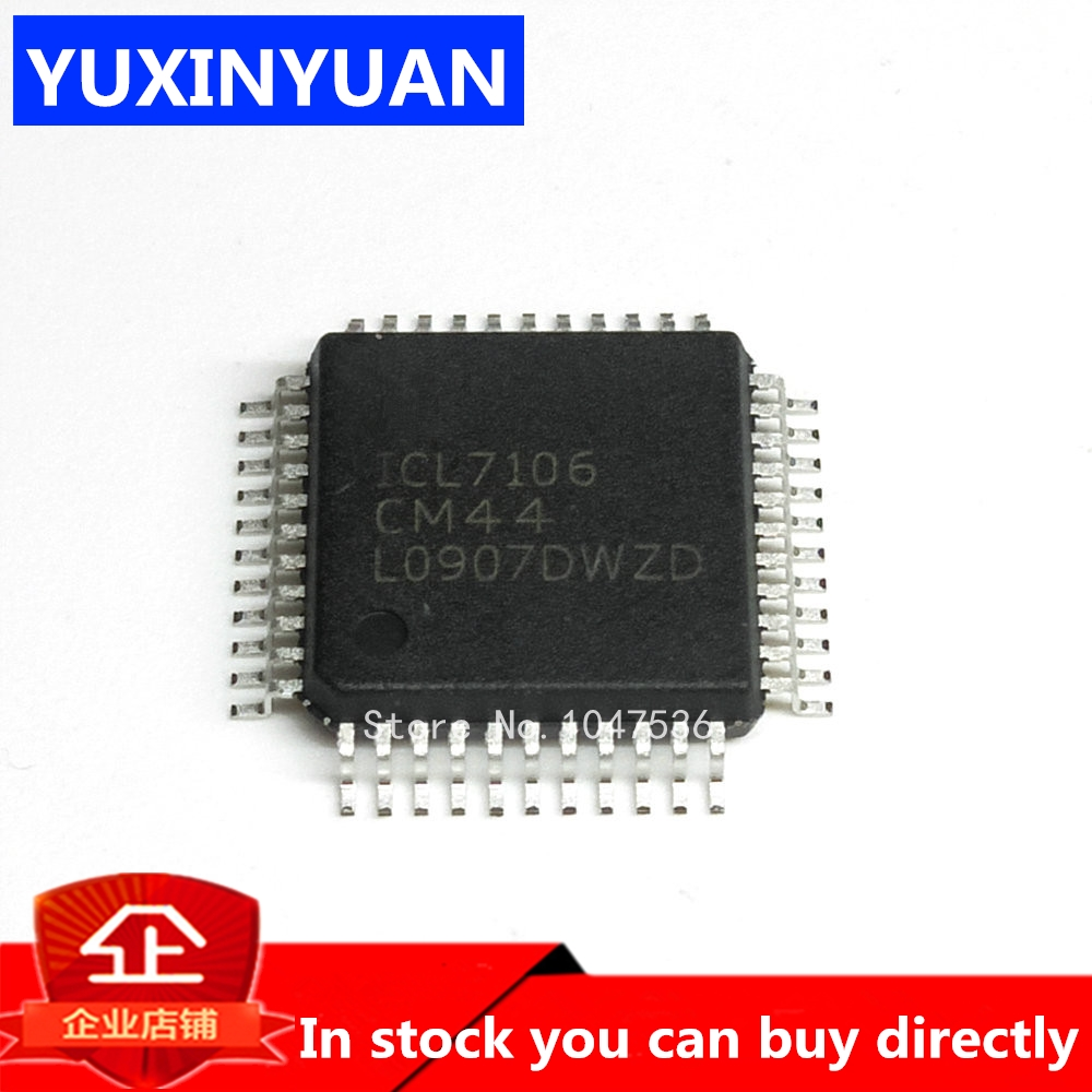 YUXINYUAN 1pcs  ICL7106 ICL7106CM44 QFP44  Can Be Purchased Directly