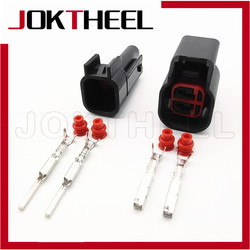 1/5/10/20 наборы EV6 к EV1 автомобильный водонепроницаемый мужской и женский 2-контактный топливный инжектор разъем форсунок метанол разъем для Ford...