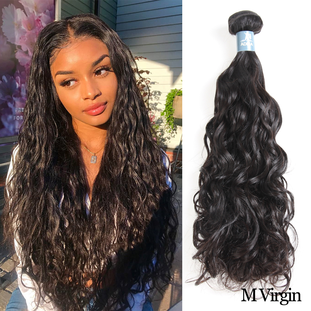 Amanda Brazilian Water Wave 1 Piece Human Hair Bundles Virgin Hair 10-28