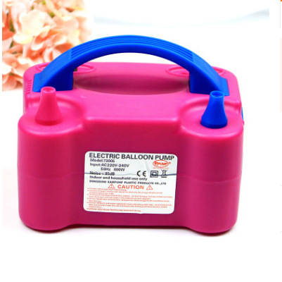 Manufacturers Wedding Supplies Balloon Electric Inflator 73005 Household Portable Diplopore Fast Balloon Air Pump