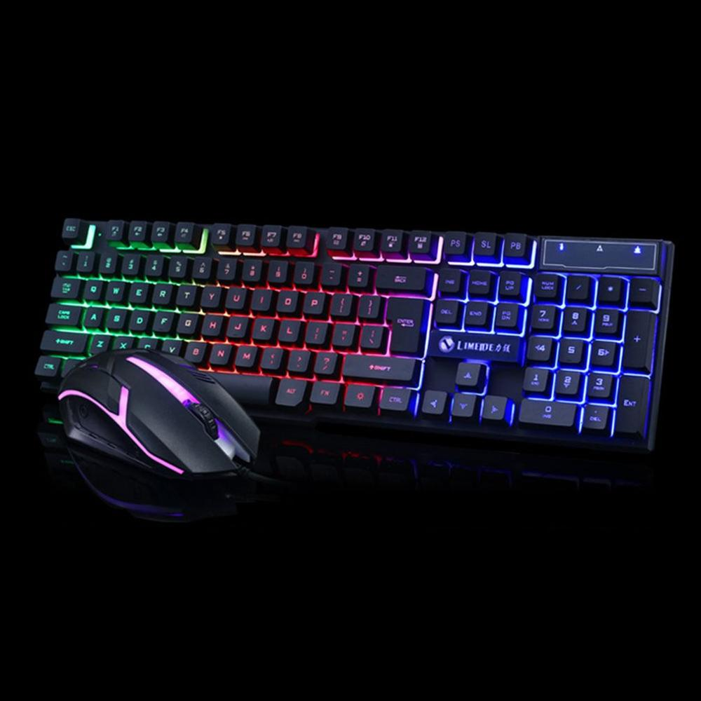 Gtx300 Backlight Suspension Game Keyboard Mouse Mechanical Touch Keyboard Glow Keyboard And Mouse Set
