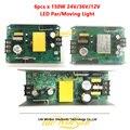 6 шт. 150 Вт Панель управления питанием 36 В 24 в 12 В постоянного тока для светодиодный Par свет светодиодный движущийся головной сценический свет