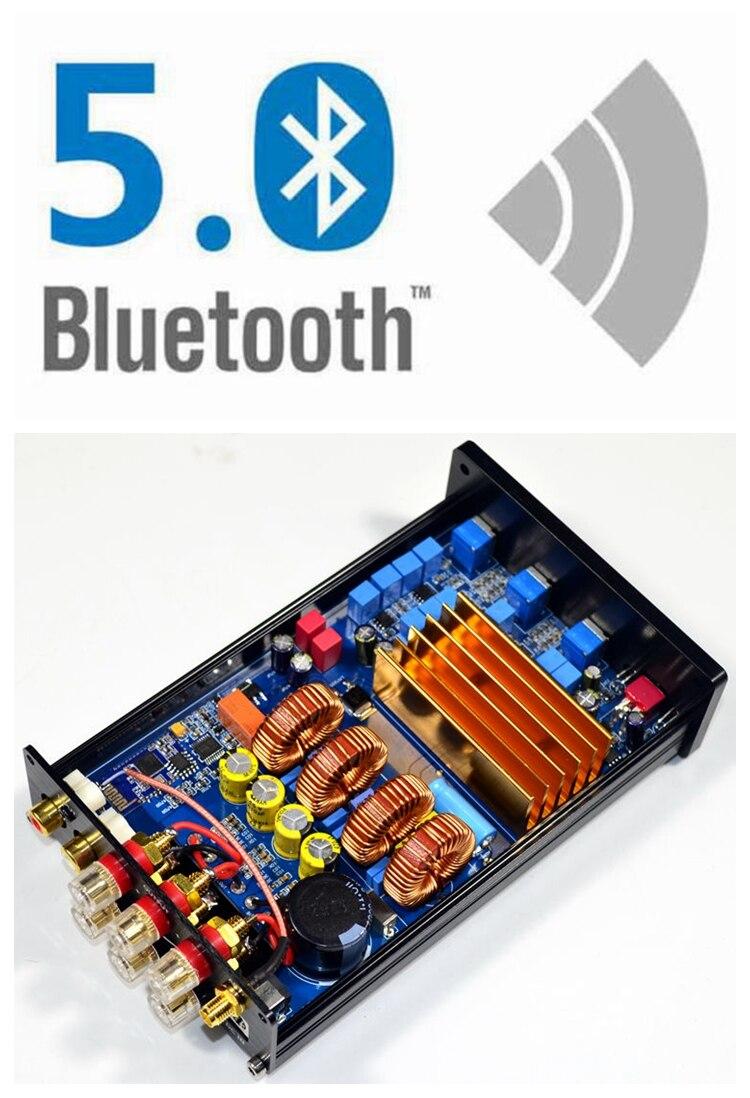 2.1 amplificateur Bluetooth 4.2/5.0 TPA3255 haute puissance classe D Hifi amplificateur de puissance numérique 150W + 150W + 300W