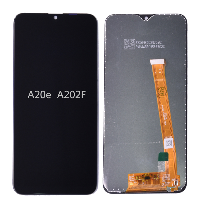 Original For Samsung Galaxy A20e LCD Display Touch Screen Digitizer Assembly A202 A202F Replace For SAMSUNG A20e LCD Screen