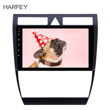 Harfey 2 OEM din player Multimídia Android 8.1 autoradio android GPS Rádio do carro para Audi A6 S6 RS6 1997- 2004 WIFI HD Touchscreen(China)