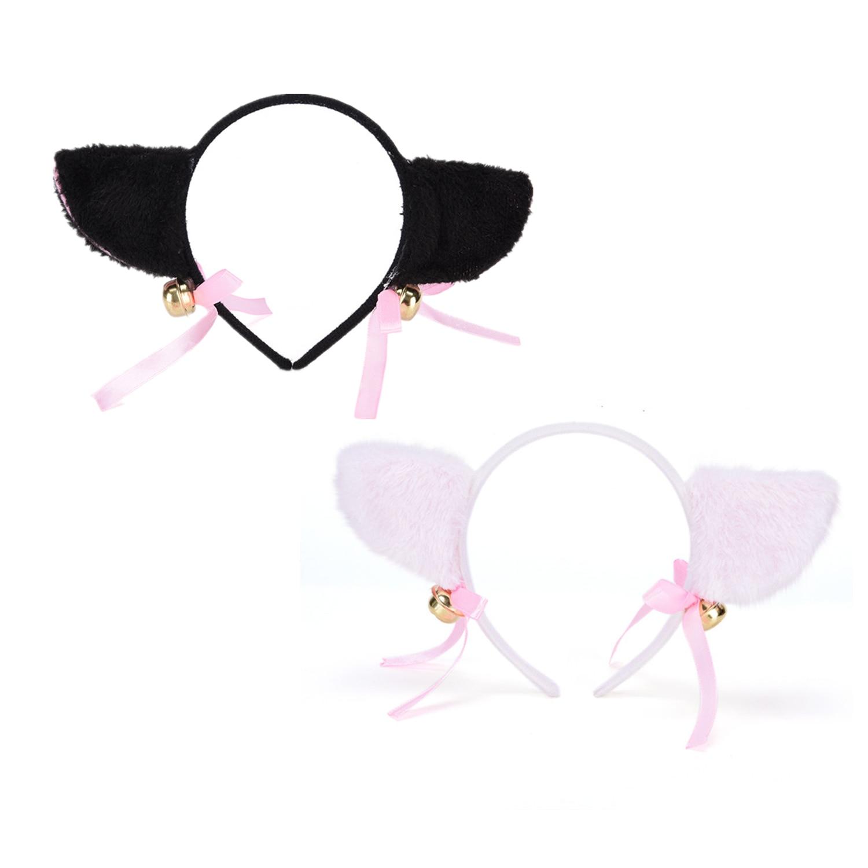 Moda bayan kız tilki kedi kulaklar kafa bantları kadınlar sevimli saç aksesuarları güzel büyüleyici gece parti kulübü Bar saç tokası kafa bandı