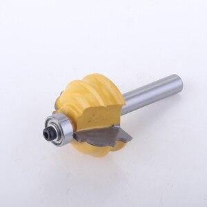 Image 3 - 1PC 8 millimetri Shank Architettonico Stampaggio Router Linea di Bit coltello La Lavorazione Del Legno cutter Tenon Cutter per la Lavorazione Del Legno Strumenti