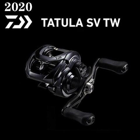 2020 novo original daiwa tatula sv tw103 carretel de pesca 7bb 1rb pesca em agua
