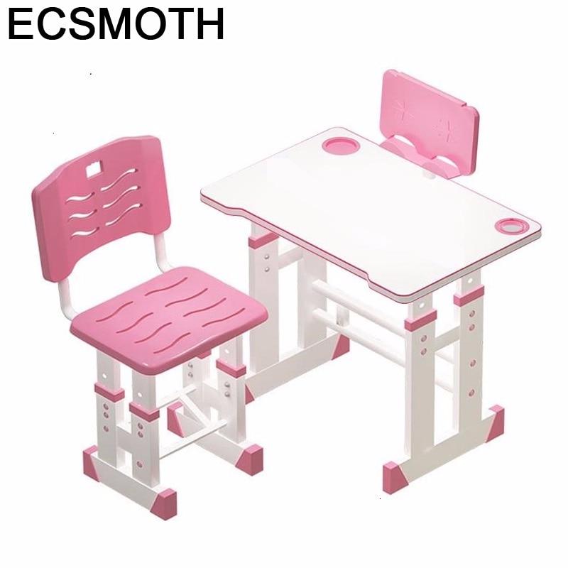 Cocuk Masasi Scrivania Bambini Toddler Children And Chair Adjustable Bureau Enfant Mesa Infantil Kinder Study Table For Kids