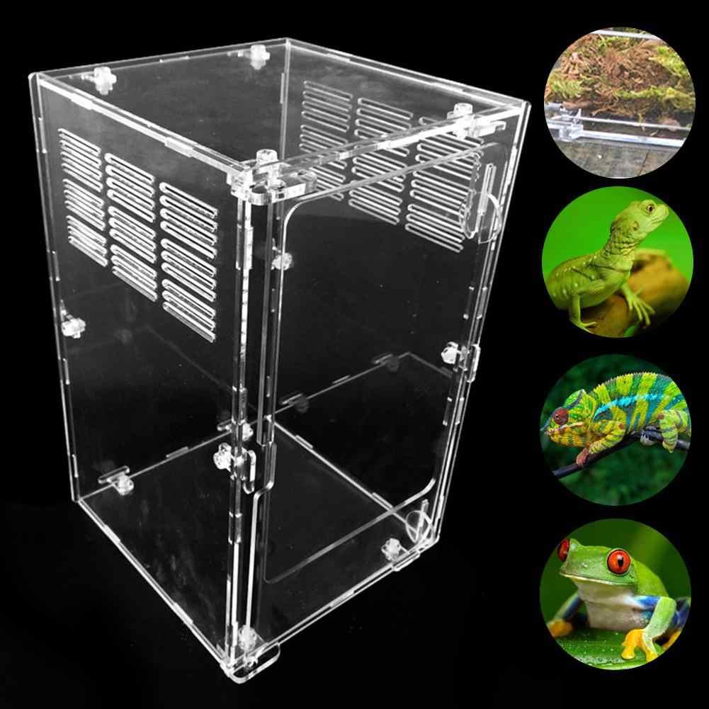 Large Reptile Breeding Box Through Insect Breeding Box Spider Lizard Scorpion Centipede Acrylic Professional Breeding Box