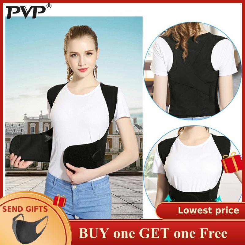 Back Posture Corrector For Men / Women Doctor Adjustable Clavicle Back Shoulder Lumbar Support Belt Posture Corrector