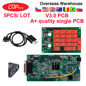 Image 2 - 5 CÁI/LỐC CDP TCT với OBD2 Bluetooth 2016.00 với keygen dùng cho xe ô tô, xe Tải OBD2 công cụ Chẩn Đoán như MVD và Multidiag mã