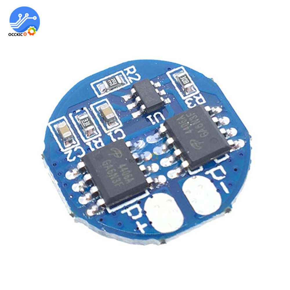 BMS 2S 5A 7.4V 8.4V 18650 Lithium Battery Charge Protectiong Circuit Board PCM 18650 Balancer Power Bank Equalizer