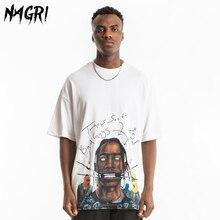 NAGRI Mens T Shirt Travis Scott Harajuku Streetwear Hip Hop T-Shirts Summer Cotton Short Sleeve O Neck Funny Tees