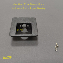 Ezzha câmera de visão traseira do carro backup suporte da placa licença luz habitação montagem para cadillac xt5 2016 2017 2018 2019 2020