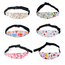 Kids Boy Girl Head Holder Car Seat Safety Sleeping Head Fixing Band Baby Pram Support Holder Belt for Baby Carriage Accessories
