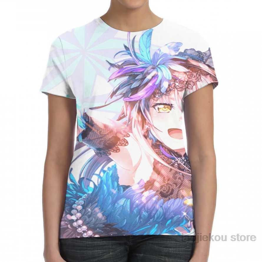 Bandori yukina minato design (violet) hommes T-Shirt femmes partout impression mode fille T-Shirt t-shirt pour garçon t-shirts à manches courtes t-shirts