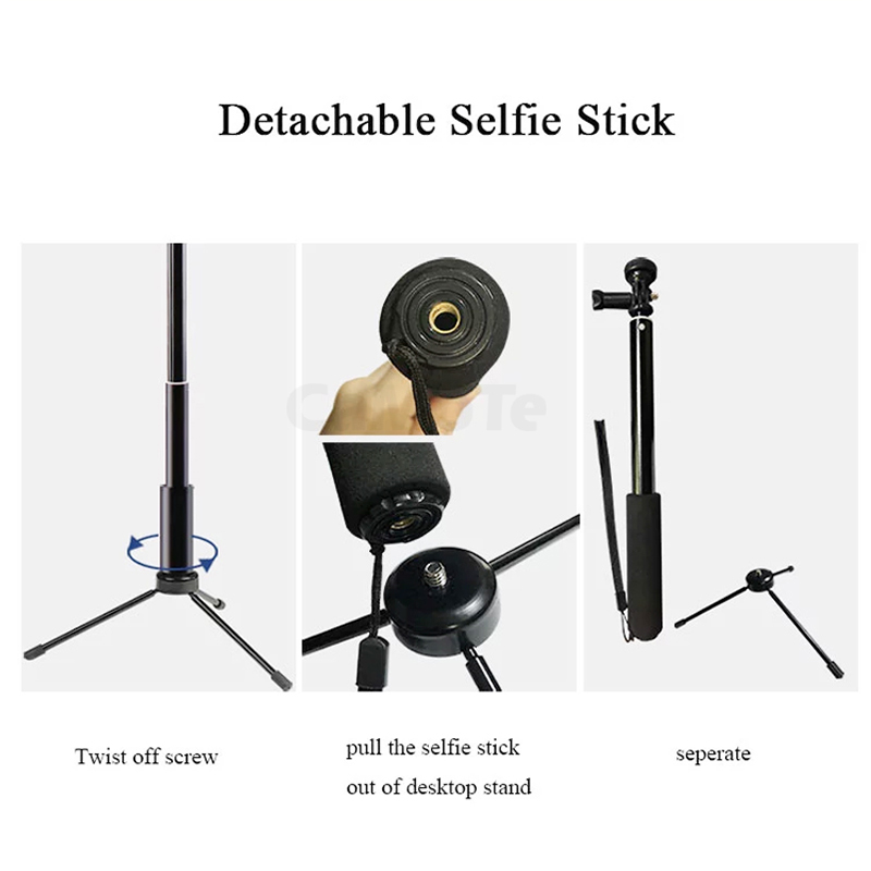 cheapest RGB Ring Light With Tripod Phone Clip Selfie Colorful Photography Lighting for TikTok Vlogging Short Video YouTube Live