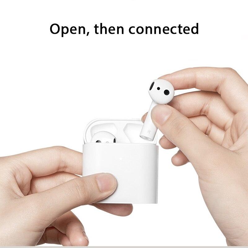 Original Xiaomi aire TWS auriculares Bluetooth 2 Airdots pro 2 Xiaomi inteligente de Control de voz LHDC HD sonido dinámico Tap Control ENC - 3