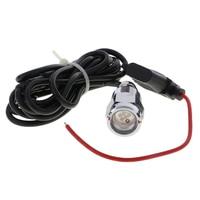 LED Drain Plug 9W Underwater Boat Lights Marine Yacht for Fishing Swimming
