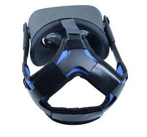 Image 2 - נוח עור מפוצל החלקה ראש רצועת קצף Pad עבור צוהר Quest/quest 2 vr אוזניות כרית סרט תיקון אבזרים