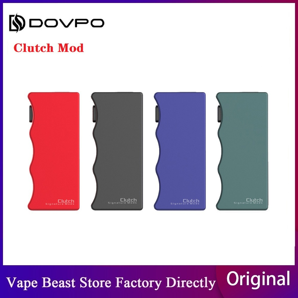 Original DOVPO Clutch 21700 Mech MOD wi/ Big Fire Button Powered by Single 21700 Battery No battery Vape Box Mod VS Topside Dual image