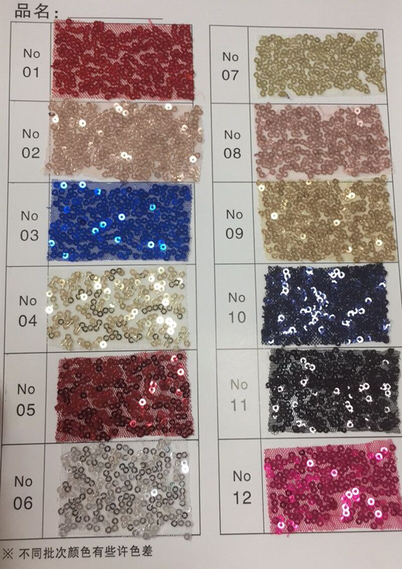 New Arrival Sequin Fabric