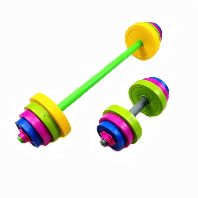 Selfree Регулируемый Вес детей ФИТА установка Детские гантели набор Бодибилдинг тренажеры тренировки мышц детский тренажерный зал дома