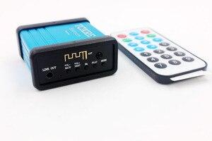 Image 3 - DC 5 V récepteur Bluetooth sans fil 3.5mm Jack Bluetooth Audio récepteur de musique adaptateur de voiture Aux pour haut parleur casque avec télécommande