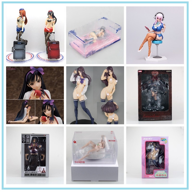 Anime Action Figure Super Sonico Sexy Native Girl Series Embrace Cat Chair Shiraki Meiko Model cat Lap Milk Collection toy Toy image